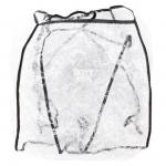 Дождевик Roxy Kids на коляску универсальный со светоотражателем в сумке