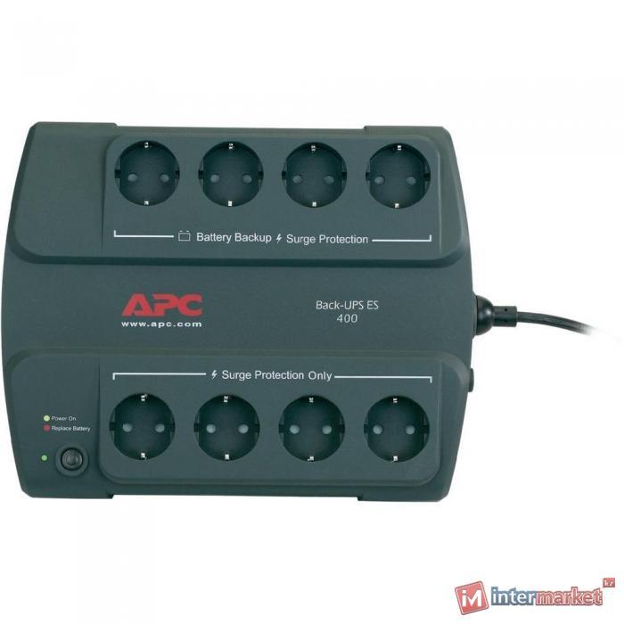 Источник бесперебойного питания APC Back-UPS ES 400VA 230V Russian