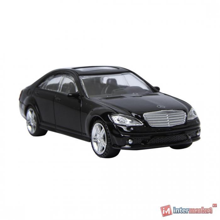 Металлическая машинка RASTAR 1:43 Mercedes-Benz S 63 AMG 37100B, черный
