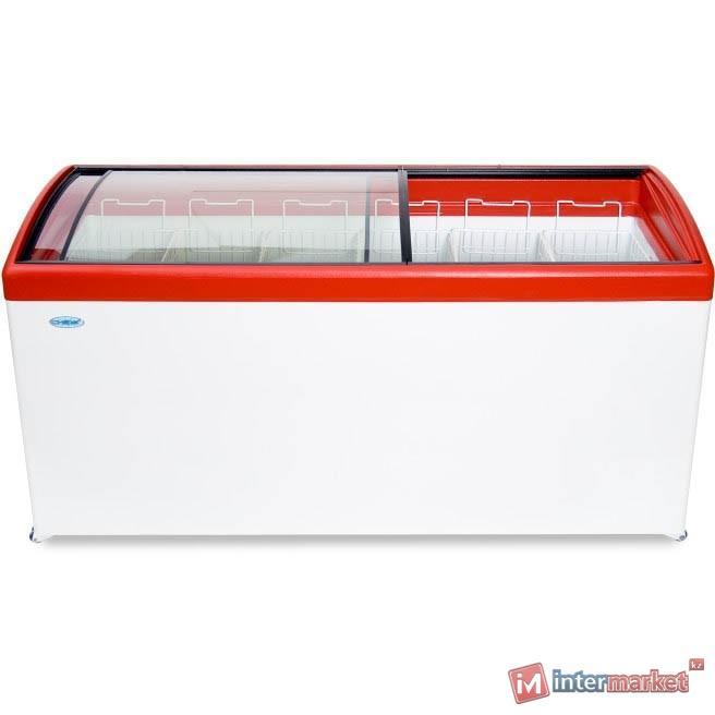 Морозильный ларь СНЕЖ МЛГ-700 красный