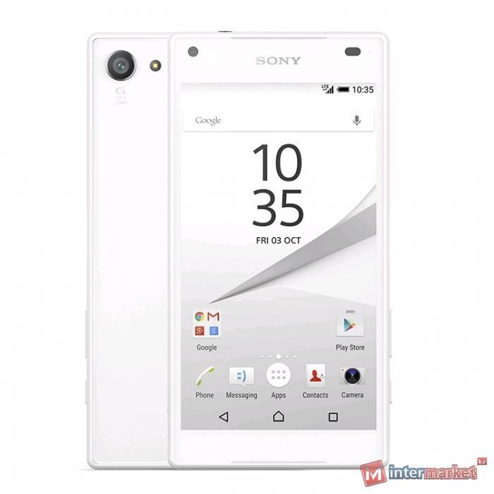 Смартфон Sony Xperia Z5 Compact, White